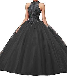 45350ccf39 online shopping for CharmingBridal High Neck Lace Prom Pageant Ball Gown  Quinceanera Dresses from top store. See new offer for CharmingBridal High  Neck Lace ...