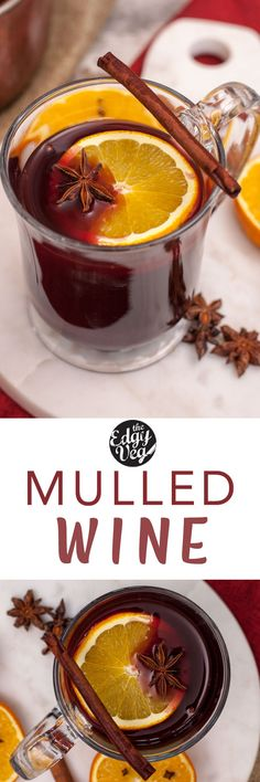Mulled Wine recipe: Cozy up to a hot cup of spiced mulled wine this Holiday Season. This traditional German hot mulled wine recipe is super easy to make, and so delicious! Whether you're home alone, trolling the Christmas market or need some warming up during your apres-ski- this warming winter cocktail is sure to delight.