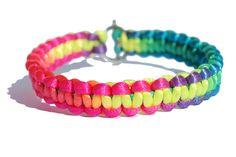 Fluo Neon armband van LaJoya-Sieraden via DaWanda
