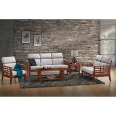 You'll love the Baxton Studio 5 Piece Armanno Living Room Set at Wayfair - Great Deals on all Furniture products with Free Shipping on most stuff, even the big stuff.