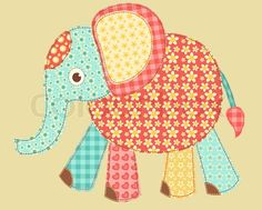 Full details of ShutterStock Children's application Elephant Patchwork series Vector illustration 91699865 for digital design and education. Description from thpho.com. I searched for this on bing.com/images