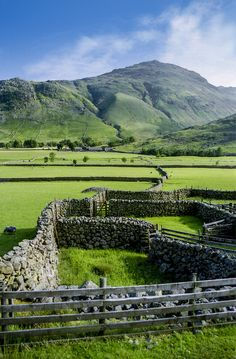 wanderthewood: Langdale, Cumbria, England by Robert J Heath on Flickr  — FUCKITANDMOVETOBRITAIN