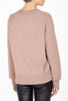 I Want More Slogan Sweater By Acne