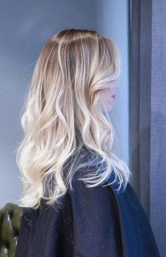 Hair Goals Hairstyles Balayage 61 Ideas - All For Hairstyles Blonde Hair Looks, Ash Blonde Hair, Light Blonde, Silver Blonde, Prom Hairstyles, Layered Hairstyles, Indian Hairstyles, Curled Hairstyles, Pretty Hairstyles