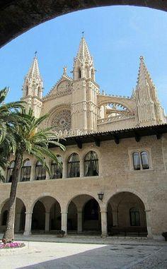 Palacio de l'Almudaina, Palma de Mallorca . Islas Baleares. España