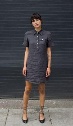 Rae Linen Shirtdress