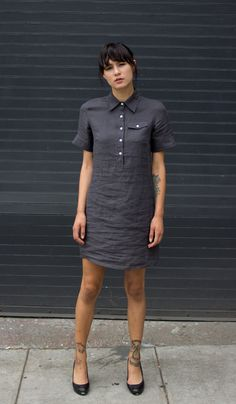 Rae Linen Shirtdress