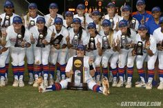 Florida is just the third program in NCAA softball history to win back-to-back NCAA titles