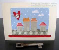 Our house, in the Middle of the Street by diestempelkueche - Cards and Paper Crafts at Splitcoaststampers