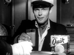 Batman's Adam West Does Nestle Quik Commercial. Incidentally it was this commercial that caught the eye of Batman's producers. :)