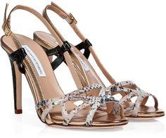 Diane von Furstenberg Leather Upton Sandals on shopstyle.com