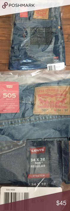 Levi 505 jeans New. Never worn. Levi's Jeans Straight