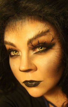 Werewolf make up for next year costume maybe ;) - buy your crazy contact lenses and accessories at www.youknowit.com #contactlenses #fancydress #fashionlenses