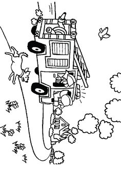 Firefighter Coloring Page | Fire Fighter Coloring Page | Coloring ...