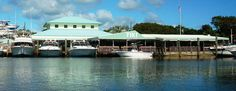Key Largo- Pilot House Marina... Good eats and a glass bottom bar!