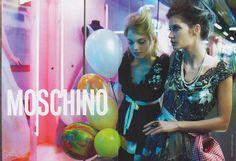 Moschino SS06 01 - art, moschino, fashion, ad campaign