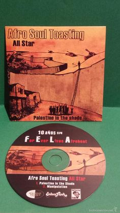 AFRO SOUL TOASTING. ALL STAR. PALESTINE IN THE SHADE. CD-SINGLE / CALIDAD LUJO.
