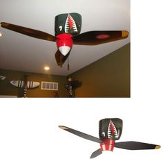 warplane-fan gift for boy's room
