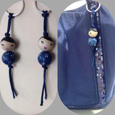 Des petites puces porte clef assorties � mon sac VB ???? (puces chinoises)