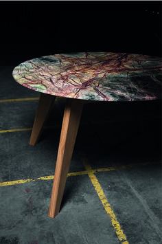 Ein Esstisch zum anfassen. Die UNICUMtable- Serie verbindet einzigartige Natursteine mit Tischlerhandwerk. Jede Platte ist ein Unikat und kann individuell auch ausgesucht werden. Ein Esstisch zum anfassen Kante, Furniture, Home Decor, Natural Stones, Dinner Table, Timber Wood, Essen, Levitate, Decoration Home