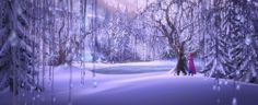 arendelle north mountain - Google Search