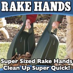 "Rake Hands | 22 ""As Seen On TV"" Products That Actually Exist"