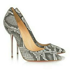 Snake Skin, Stiletto Heels, Shoes, Fashion, Moda, Zapatos, Shoes Outlet, Fashion Styles, Shoe