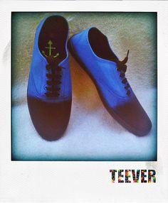 Canvas Black Shoes Custom Design