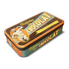 boite pour tablettes de chocolat René