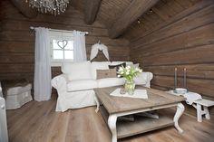 Innflyttingsklar HYTTEDRØM på utsiktstomt - Norefjell   FINN.no Dere, Cottage Interiors, Cabana, Decoration, Shabby Chic, Dining Table, Real Estate, Furniture, Home Decor