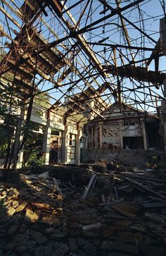 Warship Island Hashima Island, Derelict Buildings, Hidden Treasures, Abandoned Places, Contrast, Old Things, Lost, Spirit, Japan
