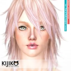 All Kijiko's Sim Models for TS3 - Sims 3 Downloads CC Caboodle