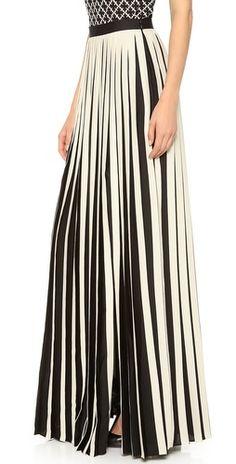 By Malene Birger Ishrat Pleaty Maxi Skirt | SHOPBOP