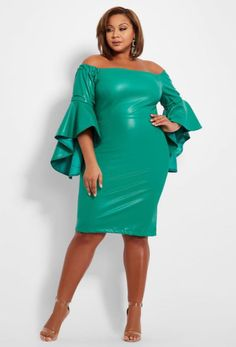 fab6442ca22c53 10 Green Plus Size Dresses To Wear On St Patrick s Day