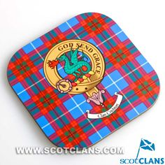 Crichton Clan Crest Coasters