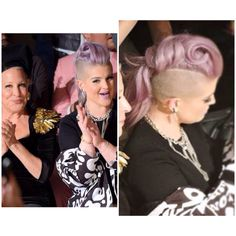 Kelly Osbourne at The Blonds #NYFW hair by Britney