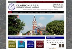 The Clarion Chamber of Business and Industry hired TechReady Professionals, Digital Penn Solutions and Justin Morgan Photography for assistance in modernizing their existing website with a fresh design, geo-located business directory and the ability to have an easily navigable web presence. Social Media Integration was also included, providing the Clarion Chamber of Business and Industry a professional & modern online presence. http://clarionpa.com/