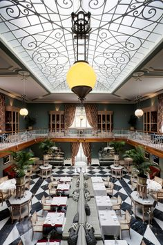 Vidago Palace. Eat in settings fit for a prince at this luxurious hotel restaurant.