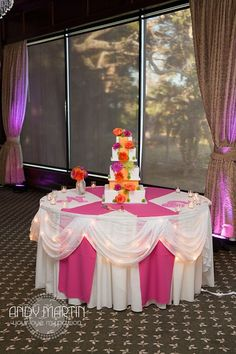 Wedding Cake Table #wedding