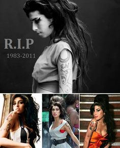 RIP Amy Whinehouse