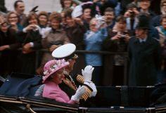 Rene Burri 1977. London. Jubilee.