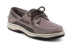 Sperry Topsider Billfish 3 Eye Wool Gray Men's Shoes 10281980 BNIB | eBay