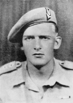 Anders Lassen VC  SECOND WORLD WAR: VICTORIA CROSS HOLDERS' PORTRAITS (GENERAL)