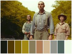 """Color Palette Cinema su Instagram: """": """"O Brother, Where Art Thou"""" (2000). •Directed by Joel and Ethan Coen •Cinematography: Roger Deakins •Production Design: Dennis…"""" Roger Deakins, Grand Isle, Coen Brothers, Godzilla Vs, Art Thou, Mortal Kombat, Cinematography, Movies, Movie Posters"""