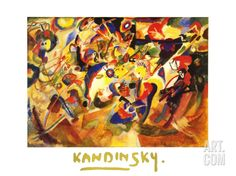 Study for Komposition VII Print by Wassily Kandinsky at Art.com
