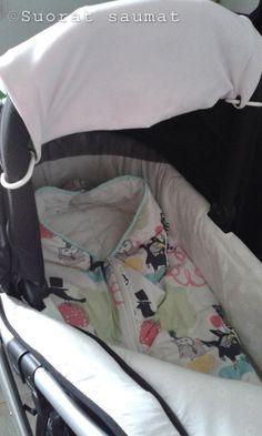 Päällystin tulevalle vauvallemme makuupussin ja tein samalla tutoriaalin teillekin, jospa tästä tavasta olisi jollekin iloa ja hyötyä:    ...