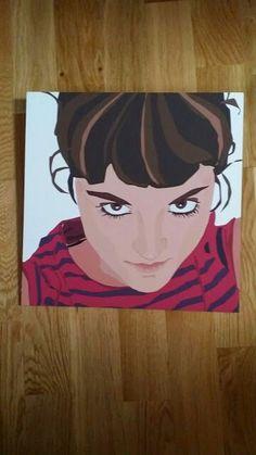 """My artworks """"Cris"""" by Laura Salesa"""