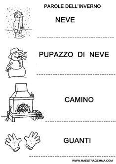 Lettere straniere italiano classe prima pinterest for Maestra gemma coccarde