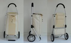 Cart and Co produces Designer Shopping trolley,Shopping Basket Trolley,Shopping Bag on Wheels,Shopping Cart- CREMA