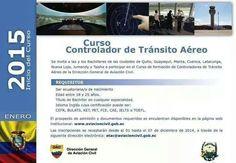 !Atención! curso de #controlador de #tránsito #Aéreo.  contacto : etac@aviacioncivil.gob.ec  @asoatcgye